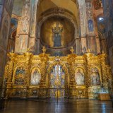 Inside st. Sophia's cathedral